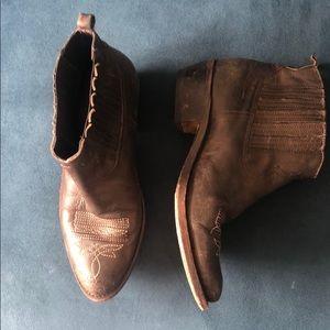 Golden Goose cowboy boots size 38
